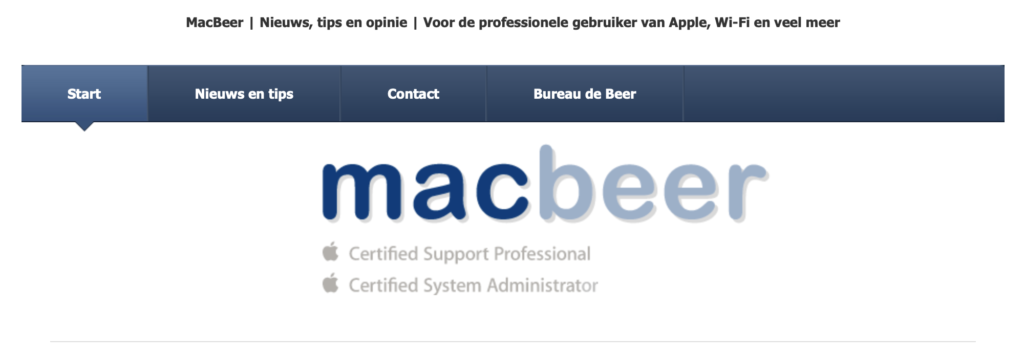 MacBeer is de beste!